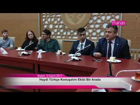 Haydi Türkçe Konuşalım Ekibi Bir Arada