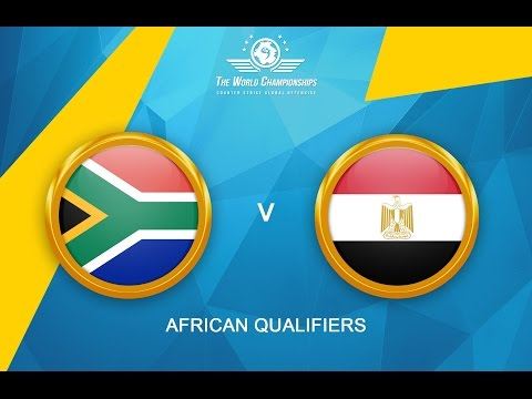 CS:GO - South Africa vs. Egypt[Mirage] - The World Championships 2016