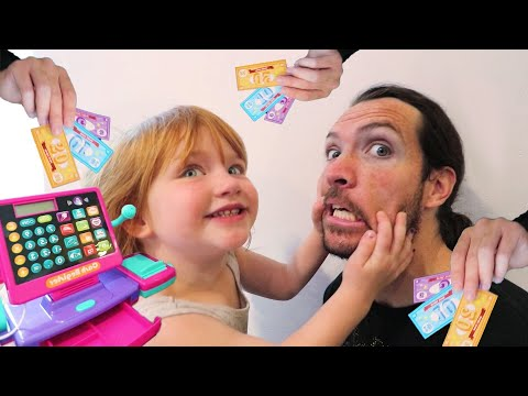 Neighbor Won't Wakeup!! NEW TOWN! Adley \u0026 Dad build a pretend store and play, pet dogs, and more!