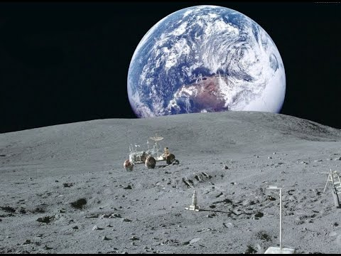 Вид Земли с Луны / View of the earth from the moon