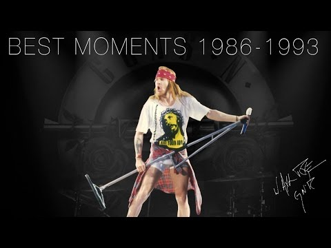 Axl Rose – Best Moments, 1986-1993  | Guns N Roses (Part 1)