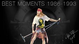 Axl Rose - Best Moments, 1986-1993  | Guns N Roses (Part 1)