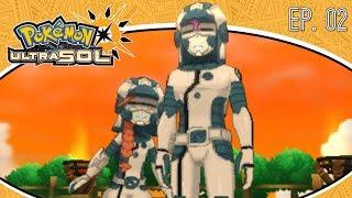 Pokémon Ultra Sol Ep.2 - DESCONOCIDOS DE OTRO MUNDO