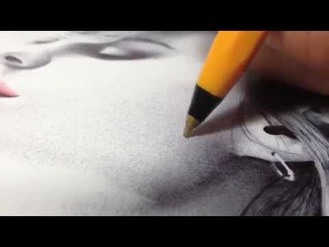 How to Draw in Ballpoint Pen  A SHADING Tutorial by Gareth Edwards