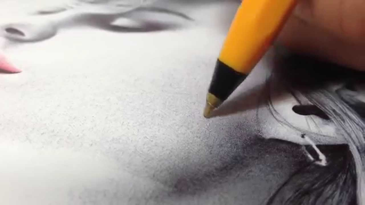 Color drawing pens for artists - How To Draw In Ballpoint Pen A Shading Tutorial By Gareth Edwards Youtube