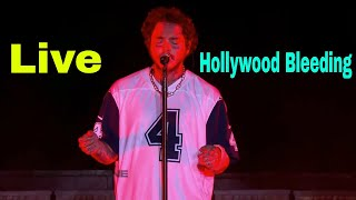 Post Malone Hollywood's Bleeding Live in Las Vegas 2019