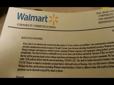 Fake Walmart Employee Prank GONE WRONG (Getting Sued)