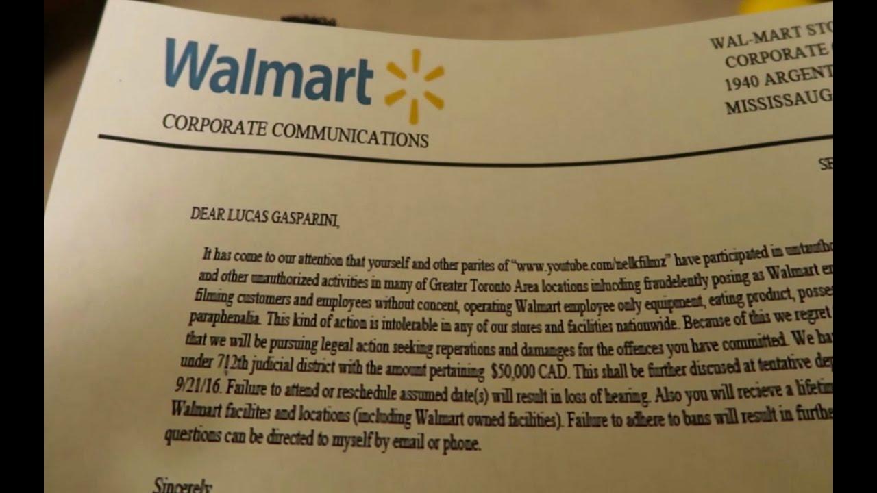 Fake Walmart Employee Prank Gone Wrong  Getting Sued