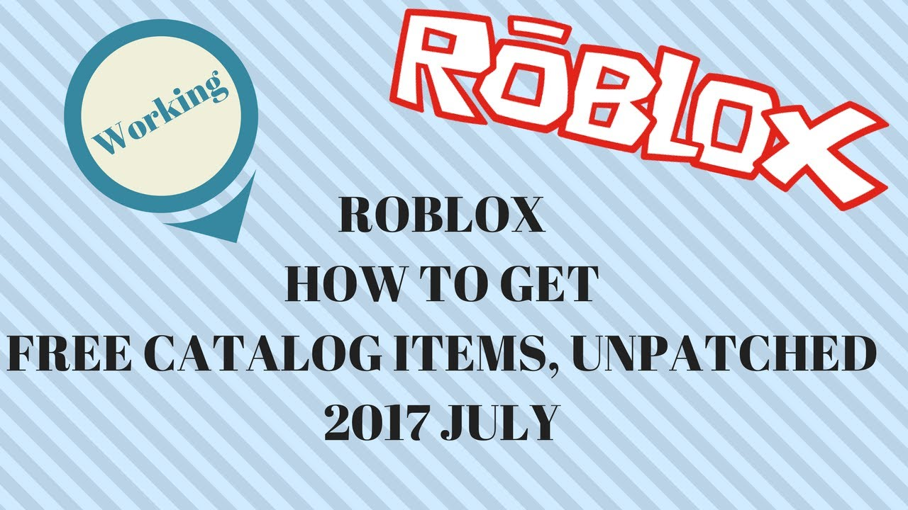 Roblox how to get free gear 2017