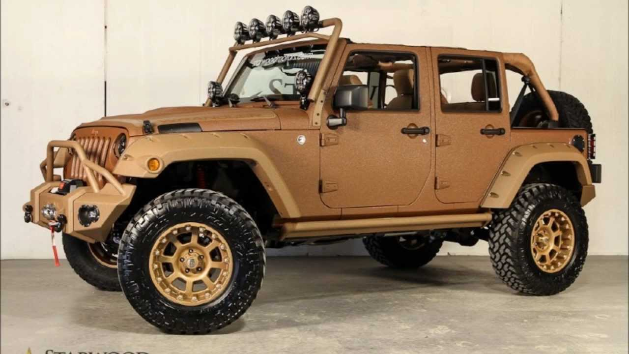 Custom Used Jeeps For Sale >> 2013 Jeep Wrangler Unlimited Canyon Ranch by Starwood Custom For Sale - YouTube