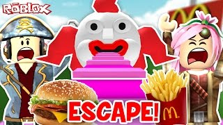 Roblox ITA - Scappiamo Dal McDonalds! - #61 - Escape McDonalds + Jail Obby