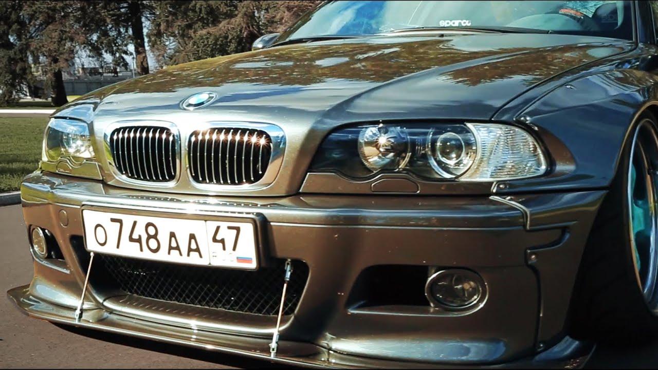 BMW M3 e46 в идеальном состоянии.