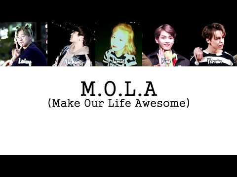 M.O.L.A - Chillin' (Remix) LYRICS [HAN|ENG]
