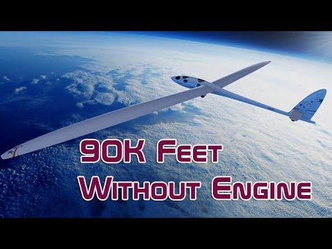 Towards 90,000 ft Altitude Record Without Engine