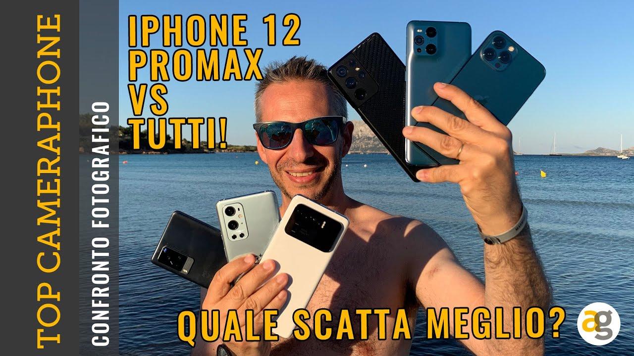 Download IL MIGLIOR TELEFONO PER FARE FOTO! Confronto iPhone 12 PRO MAX S21 ultra MI11 ultra OP9 pro X3pro