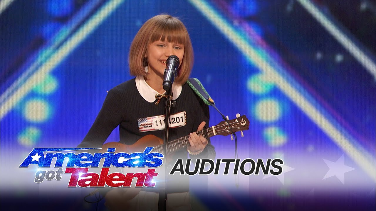 Grace VanderWaal: 12-Year-Old Ukulele Player Gets Golden ...