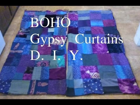 D IY Boho Gypsy Curtains