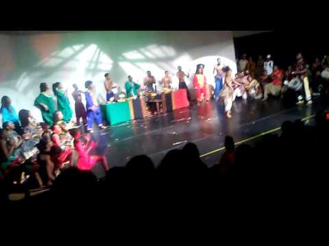 African Solo Lula Washington Dance Theater 2016 Kwanzaa Show