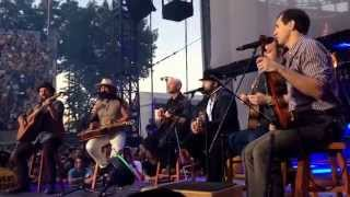 Zac Brown sings Piano Man - Forest Hills, NY 6/21