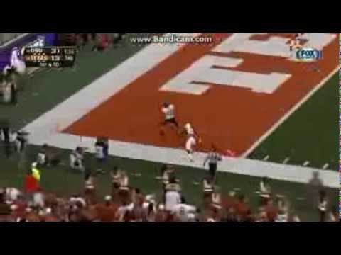 College Football:Texas Longhorns Vs The Oklahoma State Cowboys