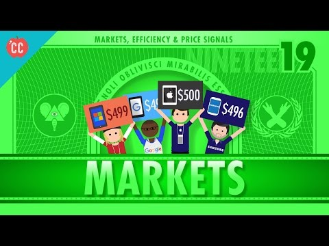 Markets, Efficiency, and Price Signals: Crash Course Economics #19