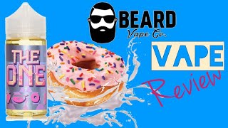 The One by Beard Vape Co E-Juice Review