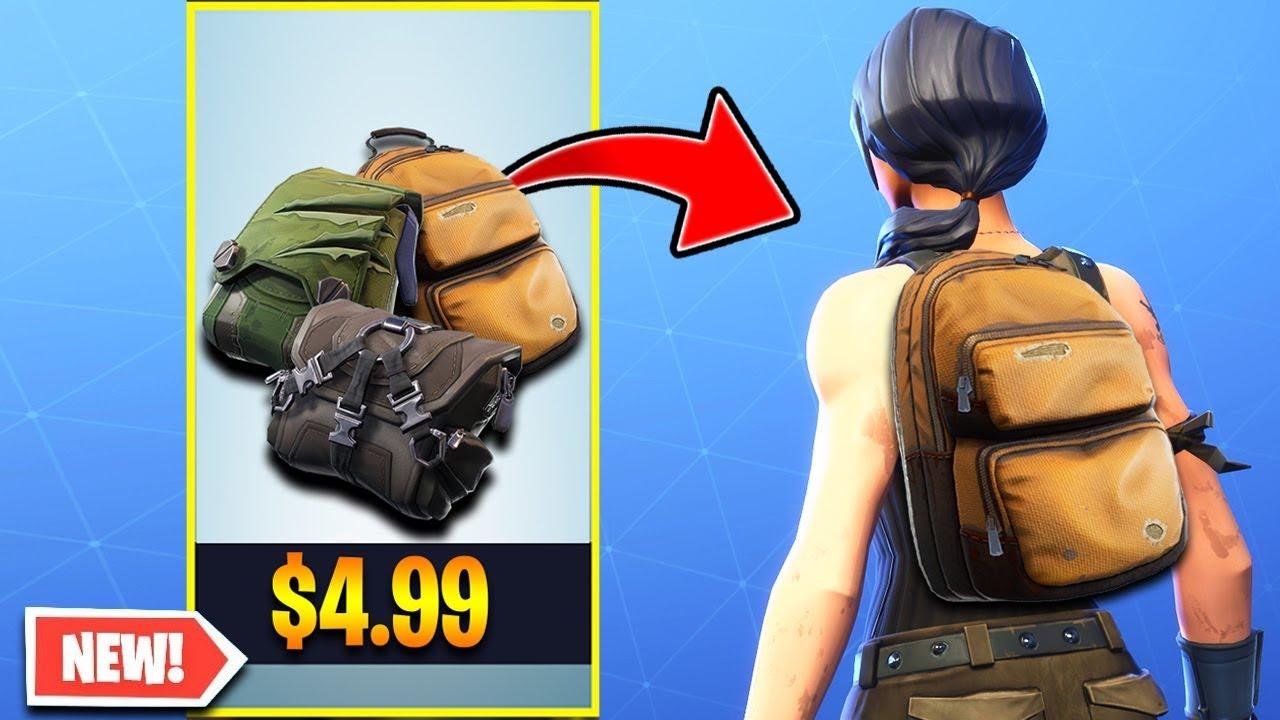 the new back bling bundle in fortnite - fortnite buckled back bling