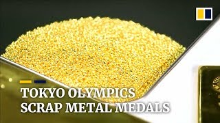 Collection of waste metal for Tokyo 2020 Olympic medals on track