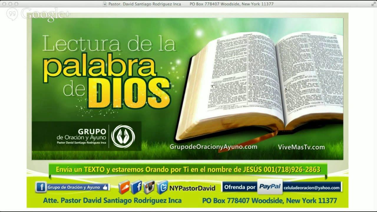 Exodo Capitulo 10, 11 y 12 / Marcos Capitulo 13 y 14 | Lectura de la ...