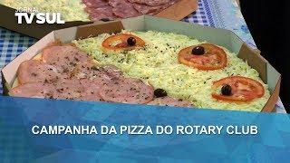 Campanha da pizza do Rotary Club arrecada recursos para banco ortopédico do Bom Pastor