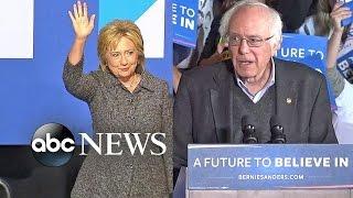 Bernie Sanders Edges Closer to Hillary Clinton in the Polls