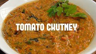 టమాట పచ్చిమిర్చి పచ్చడి/how to make instant tomatoes green chillies chutney