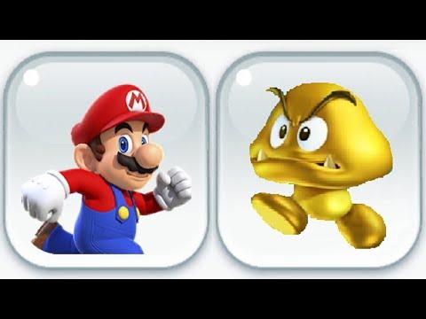 Super Mario Run - Gold Goomba Event (All Characters)