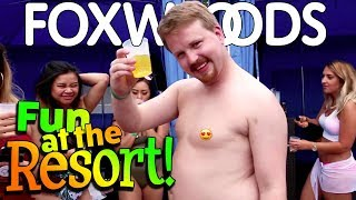 LIQUID SUNDAYS at Foxwoods Casino in USA! | Vlog 24