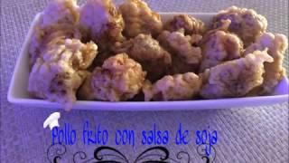 POLLO FRITO CON SALSA DE SOJA