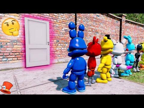 GUESS WHAT'S IN THE SUPER SECRET ROOM! (GTA 5 Mods For Kids FNAF RedHatter)