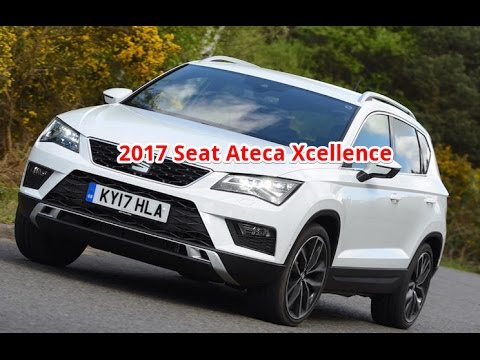 2017 seat ateca tsi 150 xcellence seat ateca xcellence review interior youtube. Black Bedroom Furniture Sets. Home Design Ideas