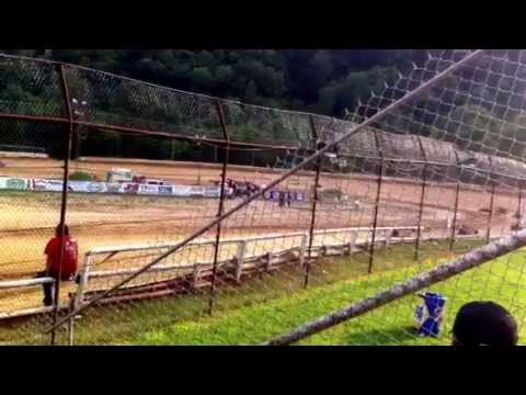 6/15/13 Tyler County Speedway Mini Wedge Feature GJ23