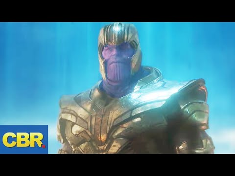 This Is Thanos' Plan In Marvel Avengers Endgame