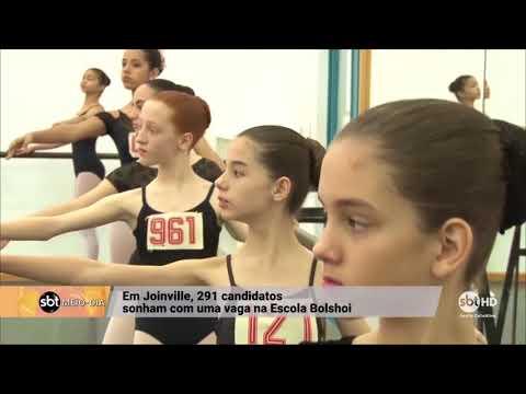 Em Joinville, 291 candidatos sonham com uma vaga na Escola Bolshoi