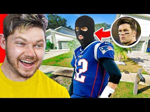 Tom Brady BROKE INTO SOMEONE'S HOUSE – Weirdest Sports Moments!