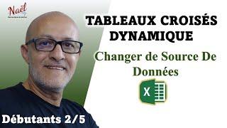 Excel TCD  Changer source de données  + Formules  partie 2/5 [HD]