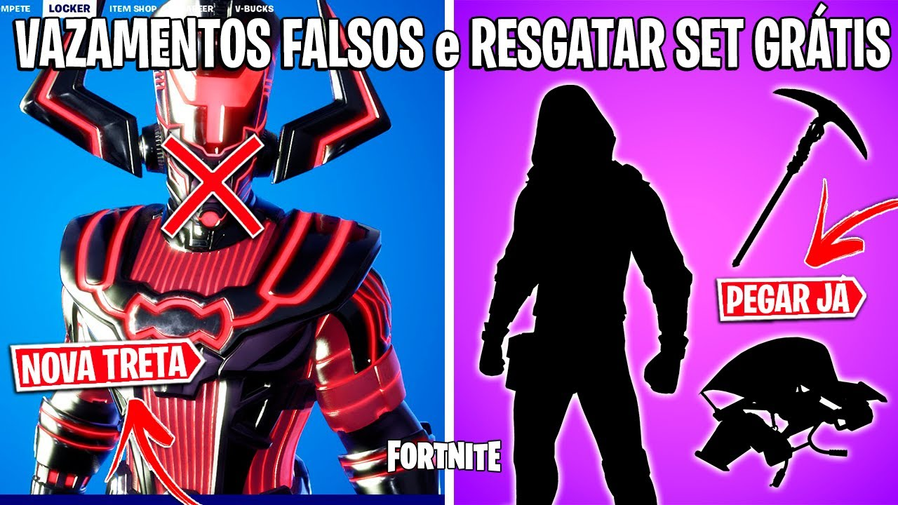 FORTNITE - LEAKERS BRIGANDO, SPOILERS TEMPORADA 5 e VAZOU CENA DO EVENTO?