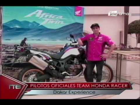 Pilotos oficiales Team Honda Racer Dakar Experience