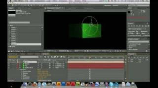 كيفية إنشاء وتنشيط 3D مربع في بعد الآثار