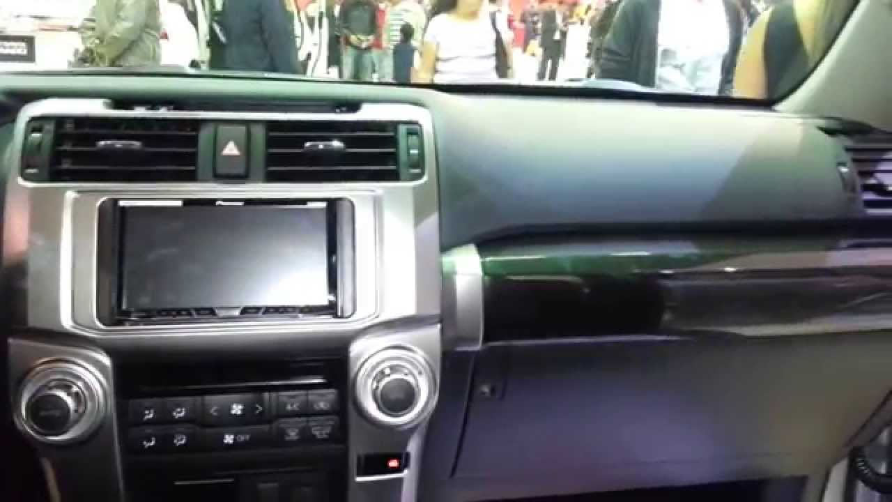 toyota 4runner sr5 2015 video interior colombia youtube