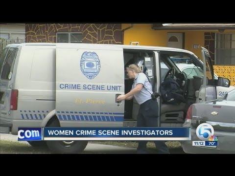 Women crime scene investigators