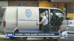 Women crime scene investigators