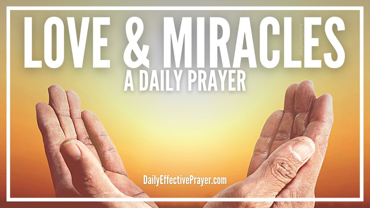 miracle prayer for relationship