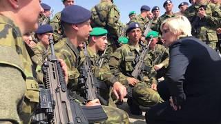 Slavnostní vojenská přísaha příslušníků kurzu Základní přípravy
